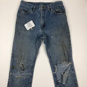 Lee Destroyed Jeans